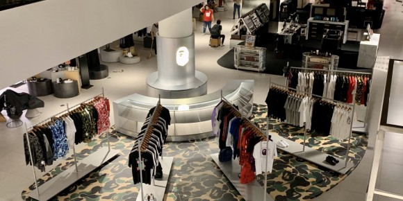 A BATHING APE Pop-up at Siam Discovery